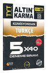 TYT Türkçe 5x40 Deneme Sınavı