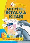 Aktiviteli Boyama Kitabı - Deniz Hayvanları