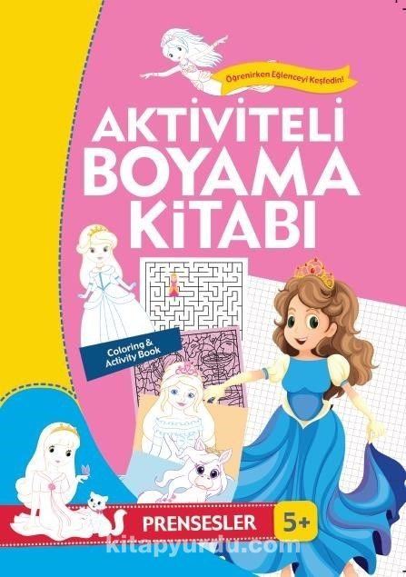 Aktiviteli Boyama Kitabı - Prensesler - Kollektif pdf epub