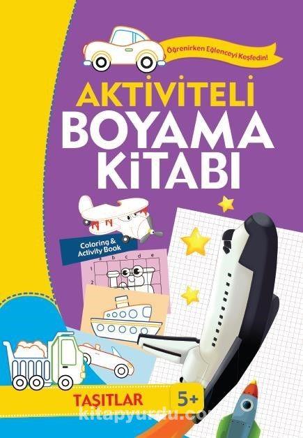 Aktiviteli Boyama Kitabı - Taşıtlar - Kollektif pdf epub