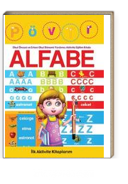 İlk Aktivite Kitaplarım - Alfabe