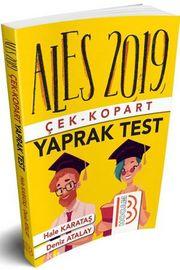 2019 ALES Çek Kopart Yaprak Test