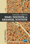 Planlamada ve Coğrafyada Temel İstatistik ve Mekansal İstatistik