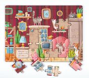 Güzel Evimiz Ahşap Puzzle 35 Parça (XXXV-09)