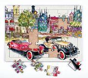 Klasik Arabalar Ahşap Puzzle 35 Parça (XXXV-14)