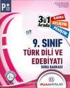 9. Sınıf Türk Dili ve Edebiyatı 3'ü 1 Arada Soru Bankası