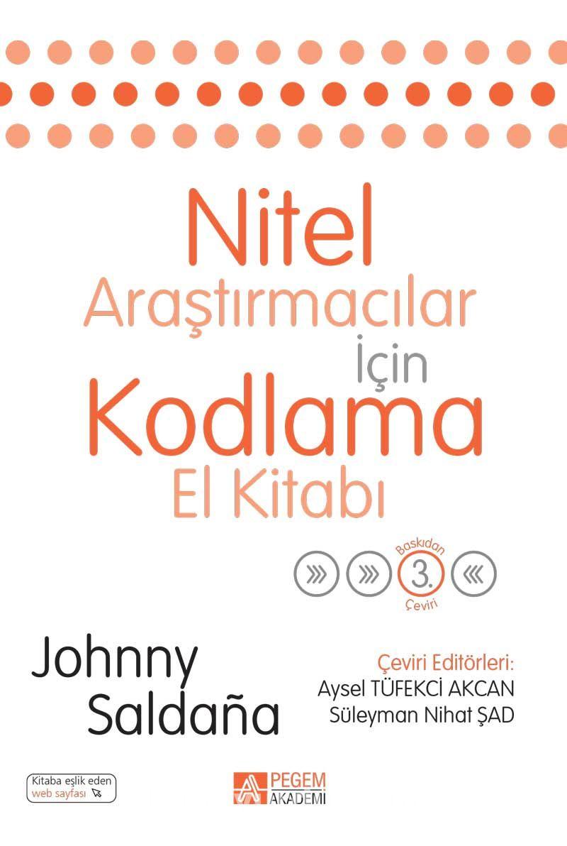Nitel Araştırmacılar İçin Kodlama El Kitabı - Johnny Saldana pdf epub