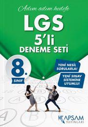 LGS 5'li Deneme Seti