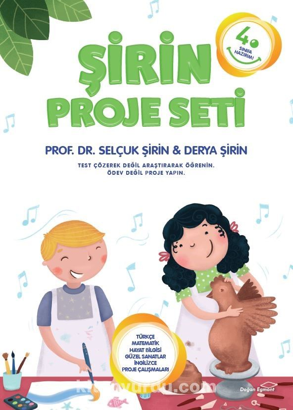 4. Sınıfa Hazırım Şirin Proje Seti - Prof. Dr.Selçuk R. Şirin pdf epub
