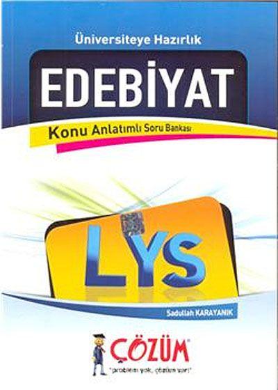 LYS Edebiyat / Konu Anlatımlı Soru Bankası - Sadullah Karayanık pdf epub