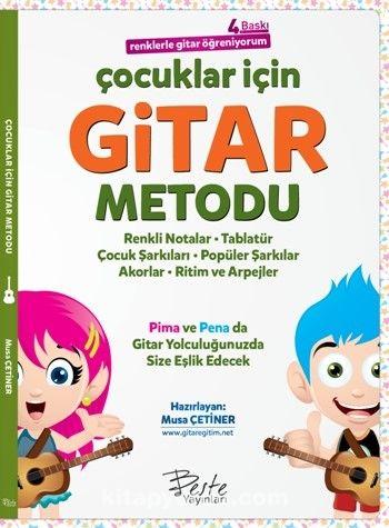 Çocuklar İçin Gitar Metodu Renklerle Gitar Öğreniyorum - Musa Çetiner pdf epub