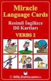 Miracle Language Cards - Verbs 2 / Resimli İngilizce Dil Kartları