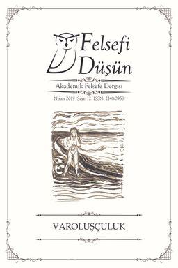 Felsefi Düşün Akademik Felsefe Dergisi Sayı:12 Varoluşçuluk