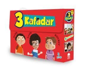 3 Kafadar Tekno Tim Set 2 (5 Kitap) - Yaşar Bayraktar pdf epub