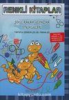 Renkli Kitaplar - 6 Şekil - Rakam ve Yazma Etkinlikleri