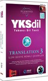 YKSDİL Yabancı Dil Testi Translation 3 İleri Seviye Renkli Çeviriler