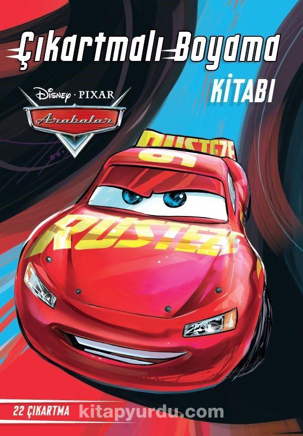 Disney Arabalar Çıkartmalı Boyama Kitabı - Kollektif pdf epub