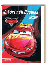 Disney Arabalar Cikartmali Boyama Kitabi Kollektif Kitapyurdu Com