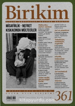 Birikim Aylık Sosyalist Kültür Dergisi Sayı:361 Mayıs 2019