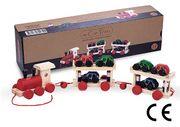 Montessori Ahşap Zeka Oyunları / w-Car Train