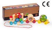 Montessori Ahşap Zeka Oyunları / w-Twirl Train