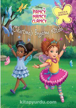 Disney Fancy Nancy Clancy Çıkartmalı Boyama Kitabı - Kollektif pdf epub