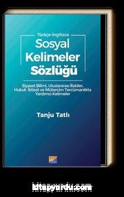 Sosyal Kelimeler Sözlüğü (Türkçe- İngilizce)
