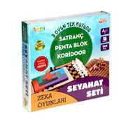 Seyahat Seti 3İN1 Satranç-Koridor-Penta Blok (040244)