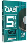 ÖABT Sınıf Öğretmenliği (75 Soruluk) Çözümlü 5 Deneme Performans Serisi - Yeni Sistem