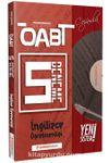 ÖABT İngilizce (75 Soruluk) Çözümlü 5 Deneme Performans Serisi - Yeni Sistem
