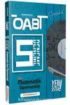 ÖABT Lise Matematik (75 Soruluk) Çözümlü 5 Deneme Performans Serisi - Yeni Sistem