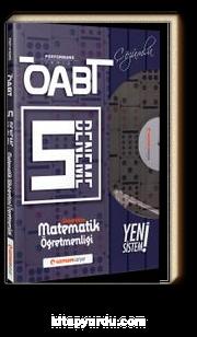 ÖABT İlköğretim Matematik (75 Soruluk) Çözümlü 5 Deneme Performans Serisi - Yeni Sistem