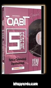 ÖABT Fen ve Teknoloji (75 Soruluk) Çözümlü 5 Deneme Performans Serisi - Yeni Sistem