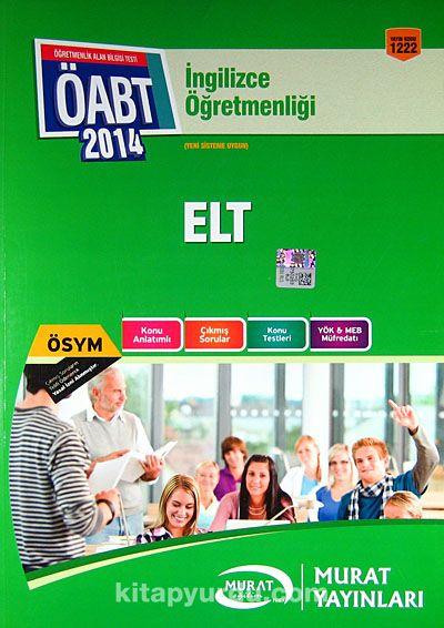 2014 ÖABT İngilizce Öğretmenliği ELT - Kollektif pdf epub