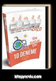 2020 EKPSS Tüm Adaylar İçin Tamamı Çözümlü 10 Deneme