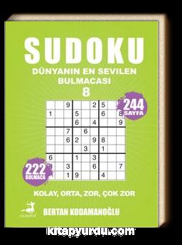 Sudoku 8 / Kolay Orta Zor Çok Zor