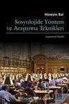Sosyolojide Yöntem ve Araştırma Teknikleri (Uygulama-Örnekli)