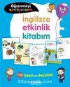 Öğrenmeyi Seviyorum - İngilizce Etkinlik Kitabım 3-6 Yaş