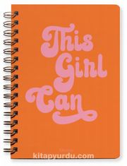 This Girl Can Undated Planner