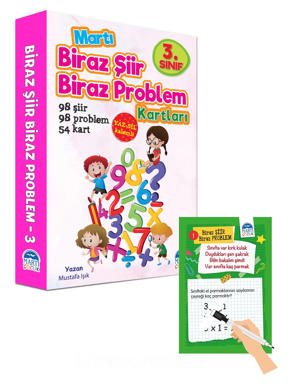 Biraz Şiir Biraz Problem Kartları 3. Sınıf / Yaz-Sil Özellikli - Mustafa Işık pdf epub