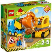 Lego Duplo Kamyon ve Paletli Kazıcı(10812)