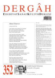 Dergah Edebiyat Sanat Kültür Dergisi Sayı:352 Haziran 2019