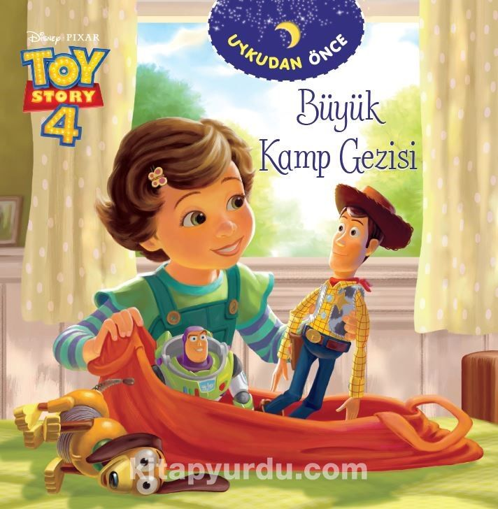 Dısney Toy Story - Uykudan Önce - Büyük Kamp Gezisi - Komisyon pdf epub