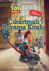 Dısney Toy Story Çıkartmalı Boyama Kitabı