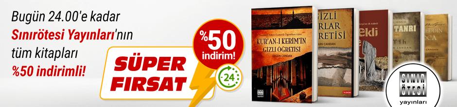 Bugüne Özel Sınırötesi Yayınları %50 indirimli!
