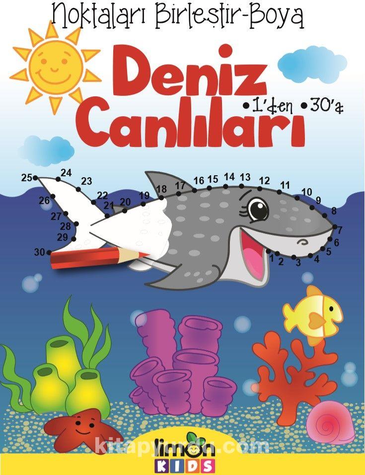 Noktaları Birleştir-Boya Deniz Canlıları - Kollektif pdf epub