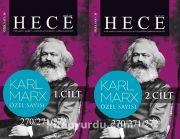 Sayı:270-271-272 2019 Hece Aylık Edebiyat Dergisi Özel Sayısı 38  Dosya: Karl Marx (2 Cilt)