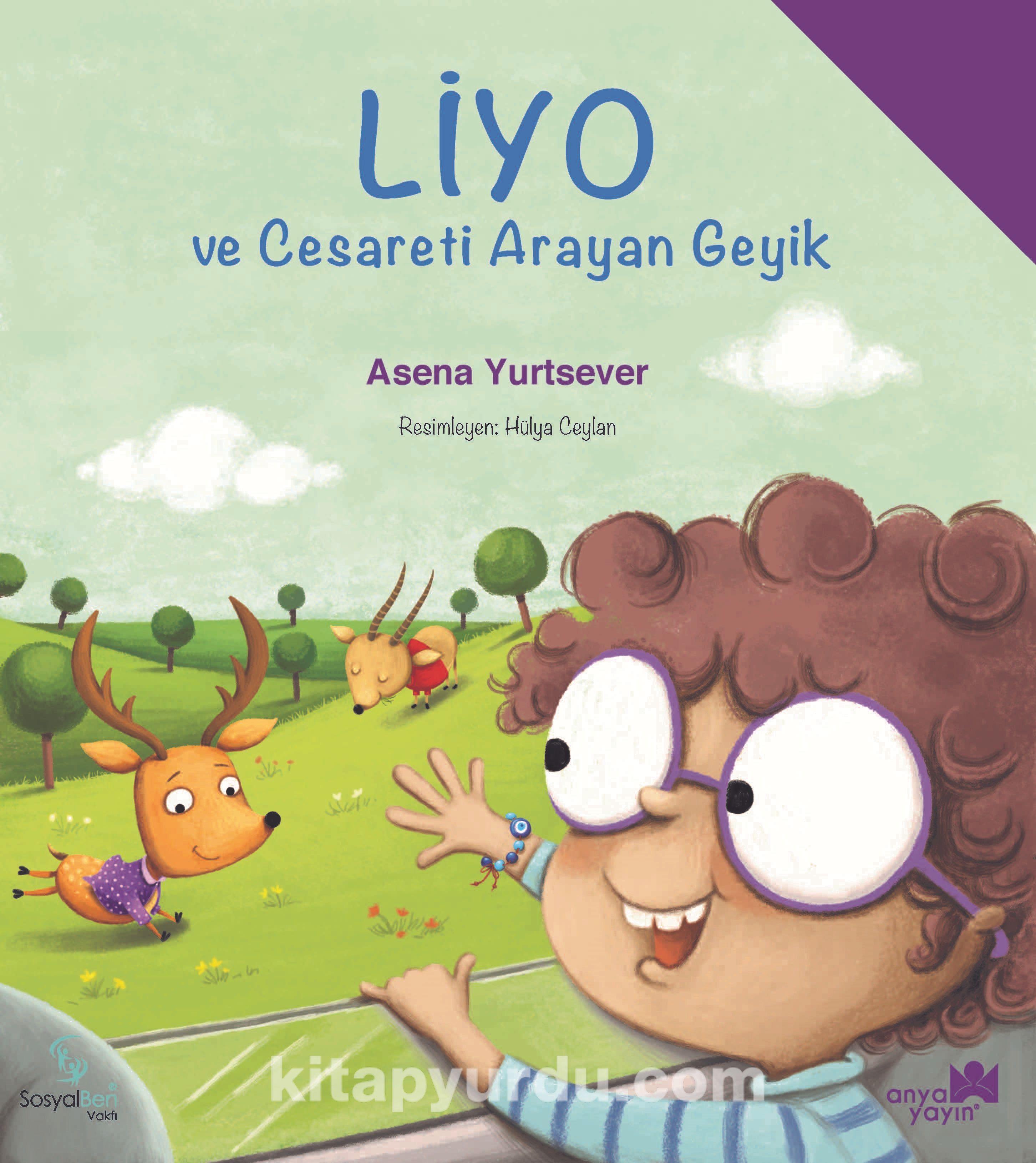 Liyo ve Cesareti Arayan Geyik - Asena Yurtsever pdf epub