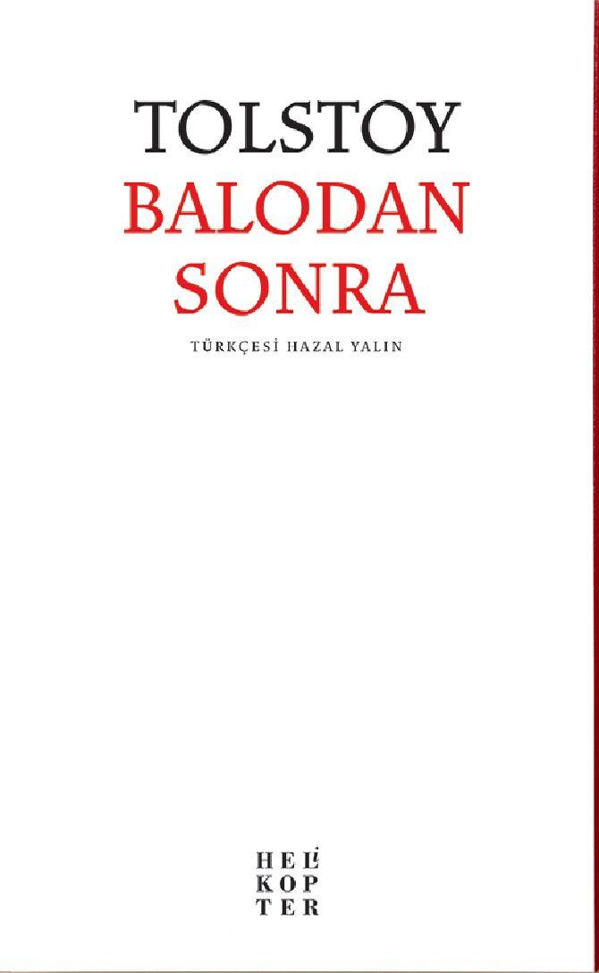 Balodan Sonra - Lev N. Tolstoy pdf epub