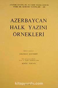 Azerbaycan Halk Yazını Örnekleri - Semih Tezcan pdf epub